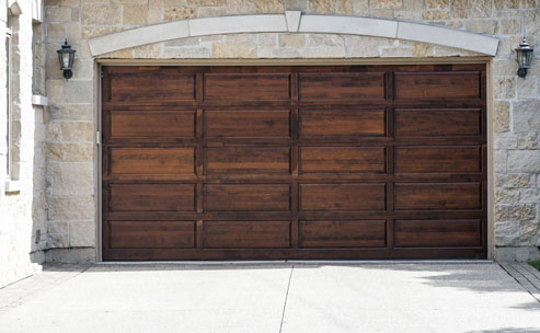 Wood overhead door service in Woodland Hills CA